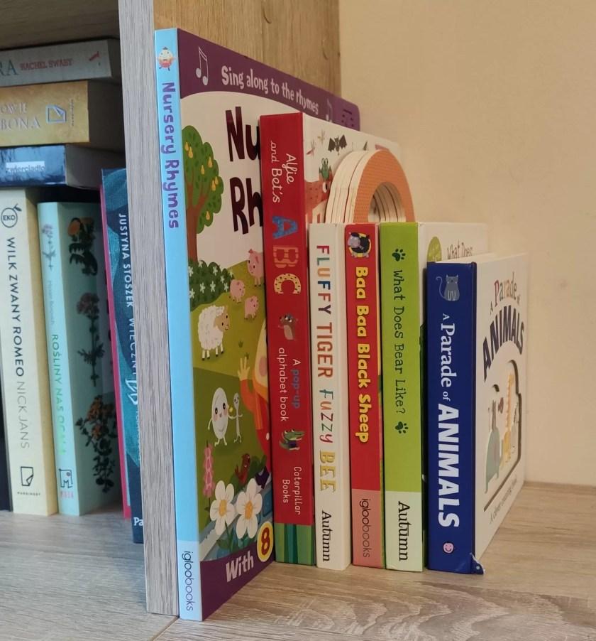 Książeczki dla dzieci w języku angielskim
