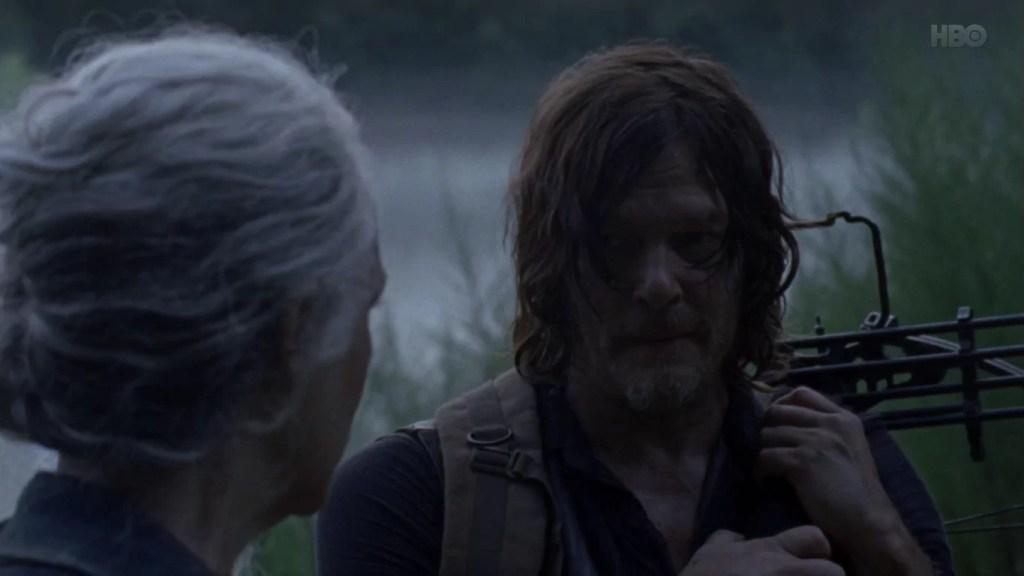 Daryl i Carol