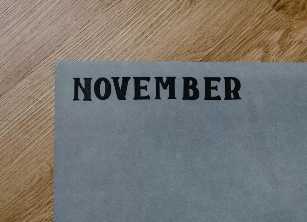 Listopad podsumownie