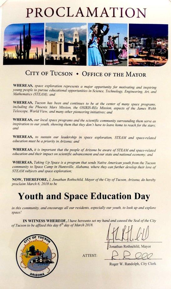 Mayor's Proclamation