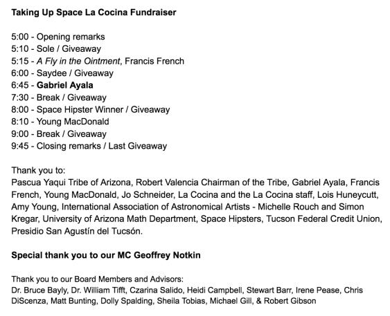 La Cocina Fundraiser