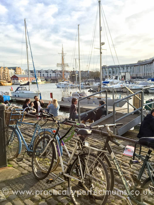 Bristol Travel Massive, harbourside