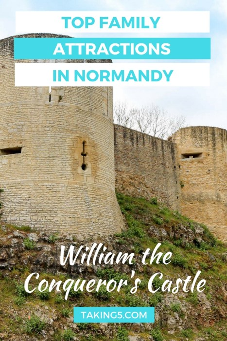 Looking for fun activities in Normandy? We think William the Conqueror's Castle in Falaise is a great, value for money family outing. Click through to the post to see how this Normandy attraction manages to combine a history lesson with clever technology in a way the children don't even realise is educational!