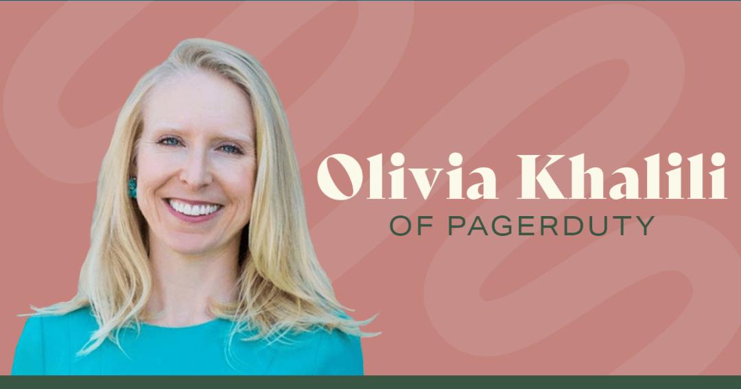 Olivia Khalili of PagerDuty