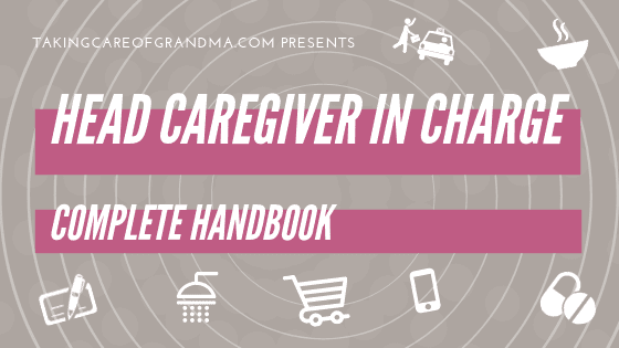 HEAD CAREGIVER IN CHARGE complete handbook