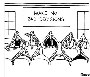 decisions are to be made for your own business