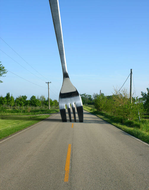when you meet a fork in the road, take it