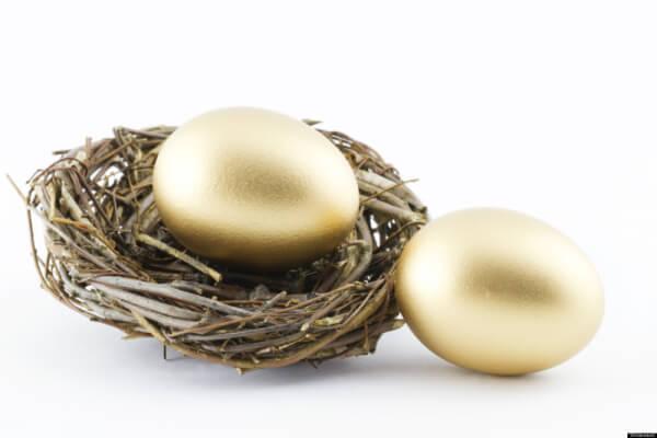build your golden nest egg slowly