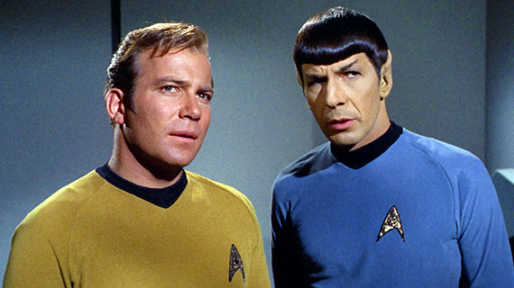 Spock the passive investor and Kirk the hedge-fund manager