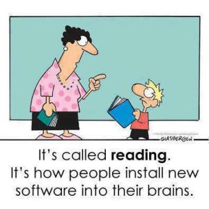 Reading - Install New Software into Brains