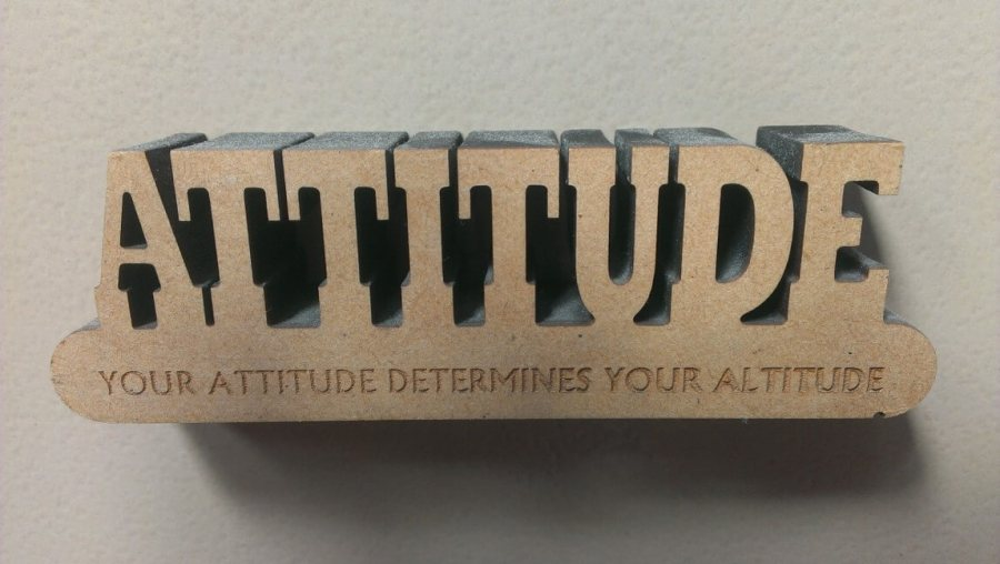 My attitude determines