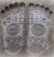 feet imprints