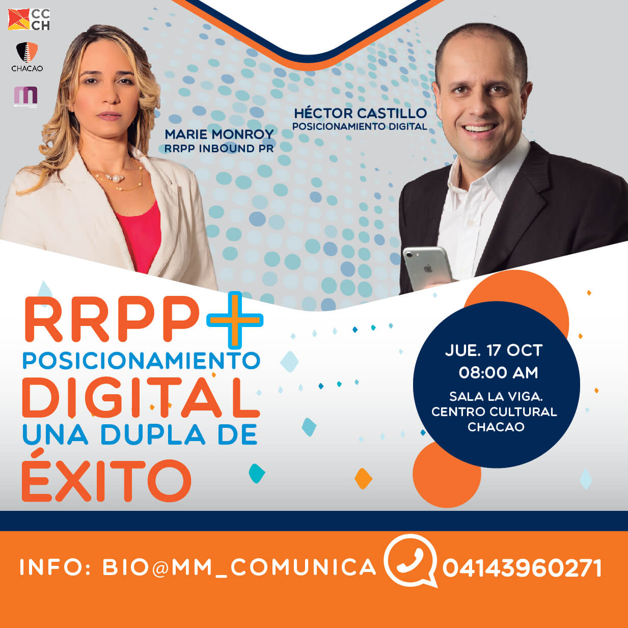Flyer RRPP y Posicionamiento Digital