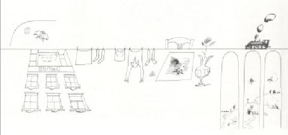 Saul Steinberg was a genius for showing us how versatile a line can be.