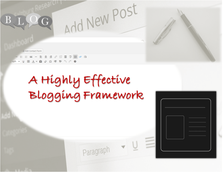 A Highly Effective Blogging Framework
