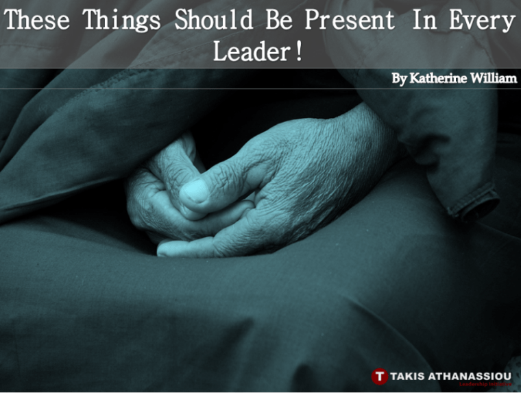 These Things Should Be Present In Every Leader