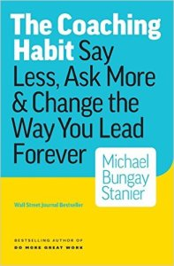 The Coaching Habit Cover