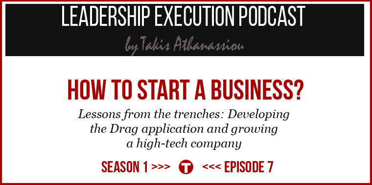 Podcast SE01EP07 - Start Business