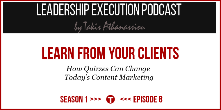 Learn From Your Clients - Josh Haynam