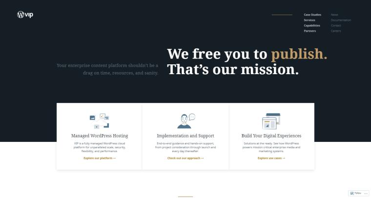 Best WordPress Hosting Solutions - VIP WordPress