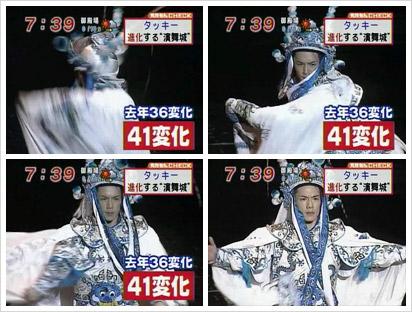 Face-changing Chinese Wayang