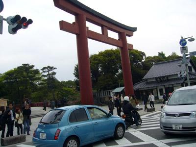 Toori gate at Junction