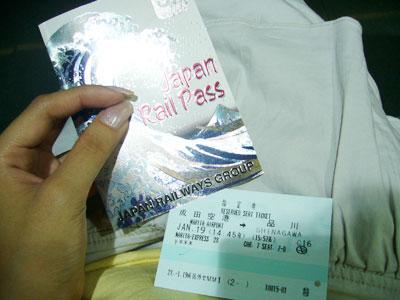 JR Pass and NEX ticket