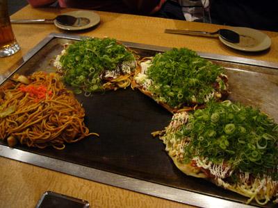 Our Okonomiyakis