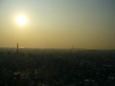 View of Osaka from Osaka Tower