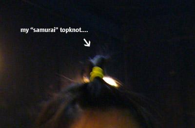 Samurai topknot