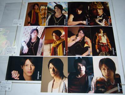 Takizawa Enbujo'09 Photosets A, B & C