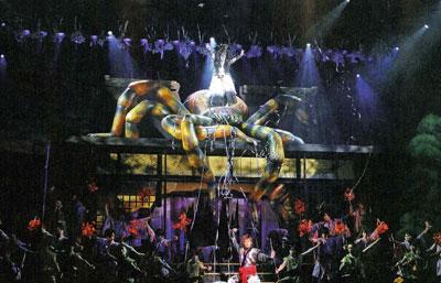 spider stage view