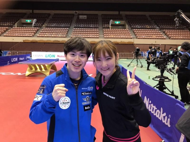 加藤美優 森薗政崇 世界卓球選手権2019 日本代表 最終選考会