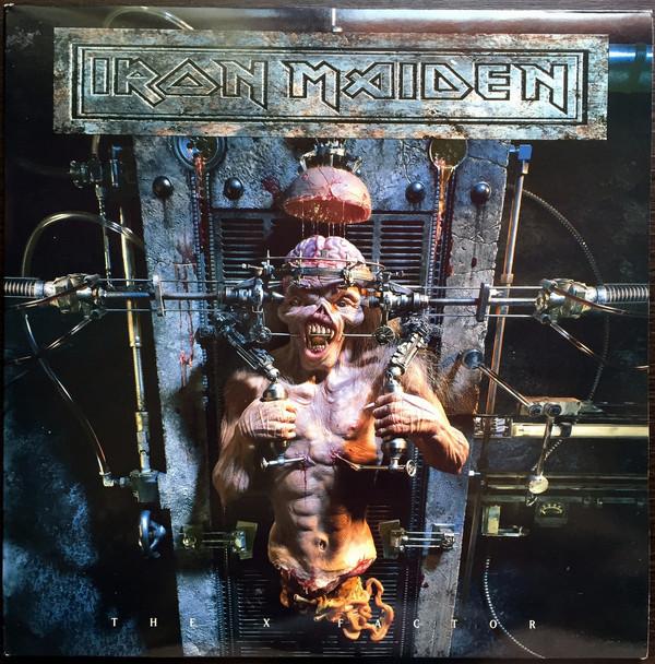 Iron Maiden - The X Factor - vinyl record