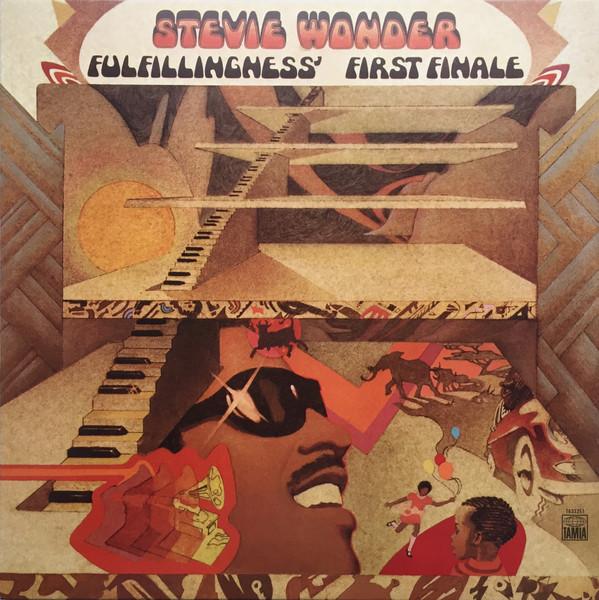 Stevie Wonder - Fulfillingness' First Finale - vinyl record