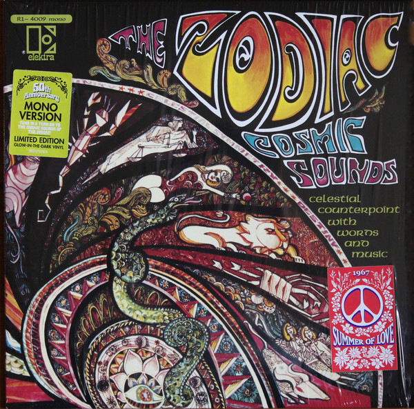The Zodiac - Cosmic Sounds - vinyl record