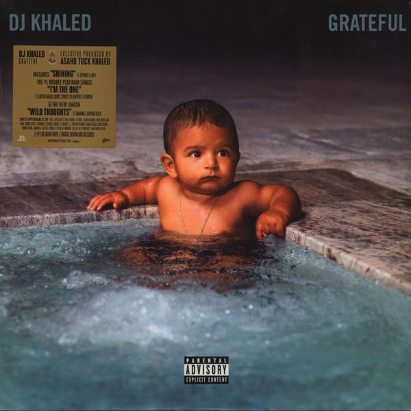 DJ Khaled - Grateful - vinyl record