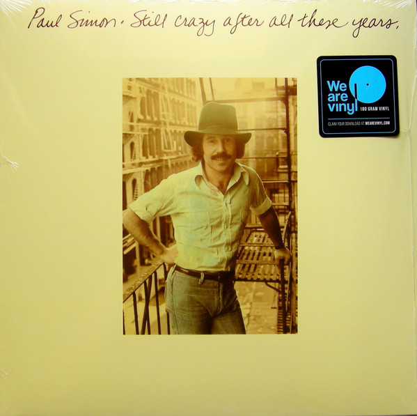 Paul Simon - Still Crazy After All These Years - vinyl record