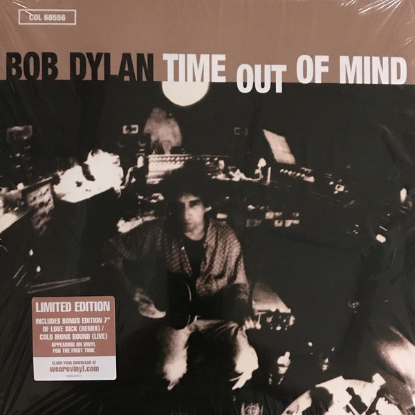 Bob Dylan - Time Out Of Mind - vinyl record