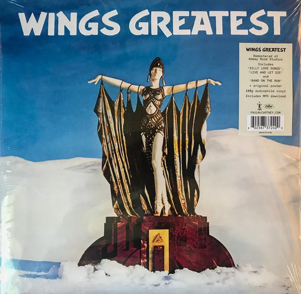 Wings (2) - Wings Greatest - vinyl record