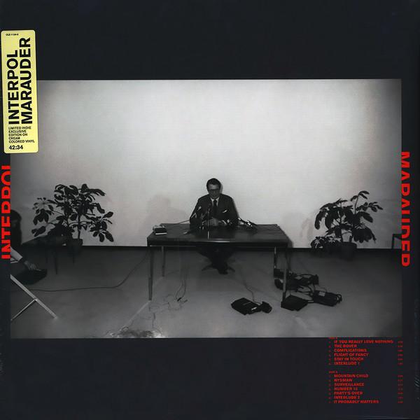 Interpol - Marauder - vinyl record