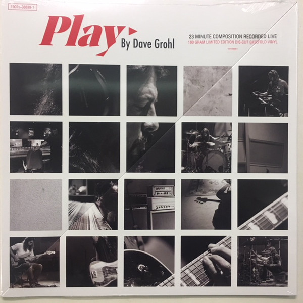 Dave Grohl - Play - vinyl record