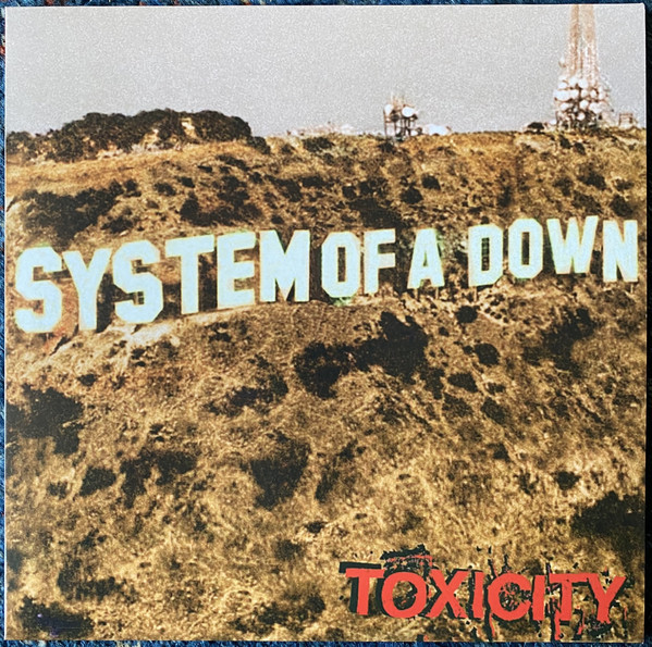 System Of A Down - Toxicity - vinyl record