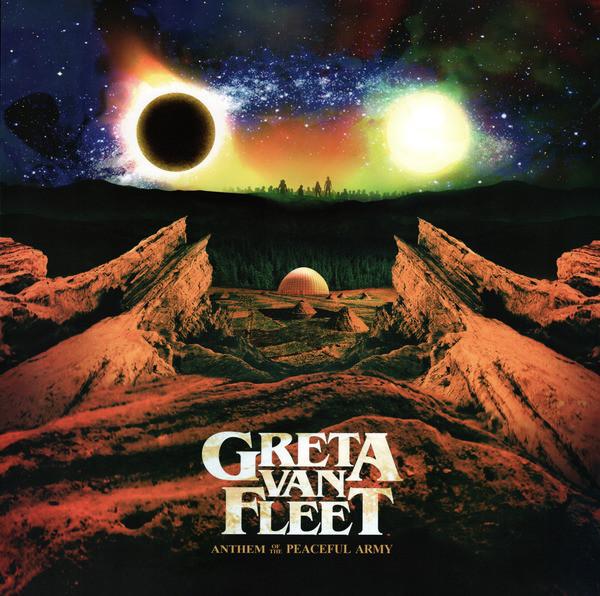Greta Van Fleet - Anthem Of The Peaceful Army - vinyl record