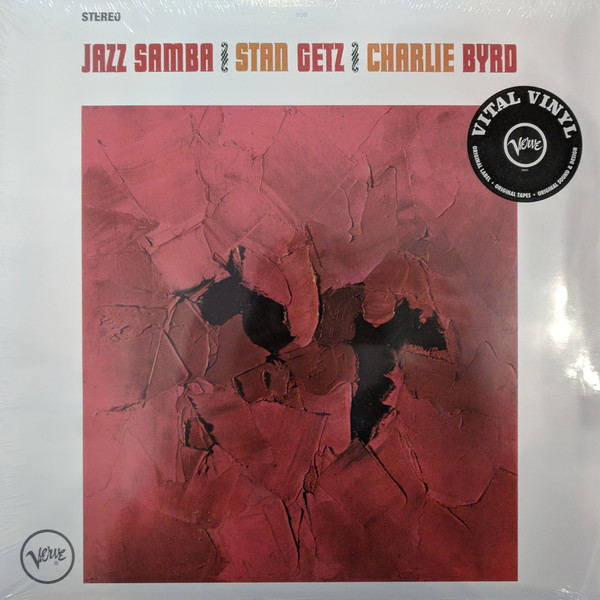 Stan Getz - Jazz Samba - vinyl record