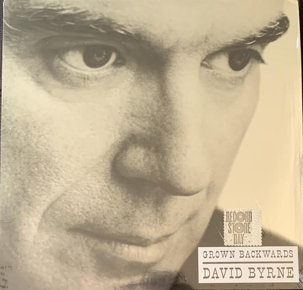David Byrne - Grown Backwards - vinyl record