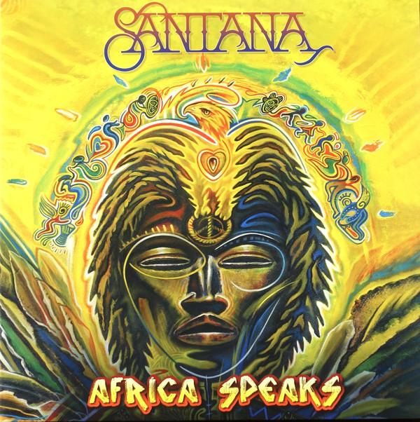 Santana - Africa Speaks - vinyl record