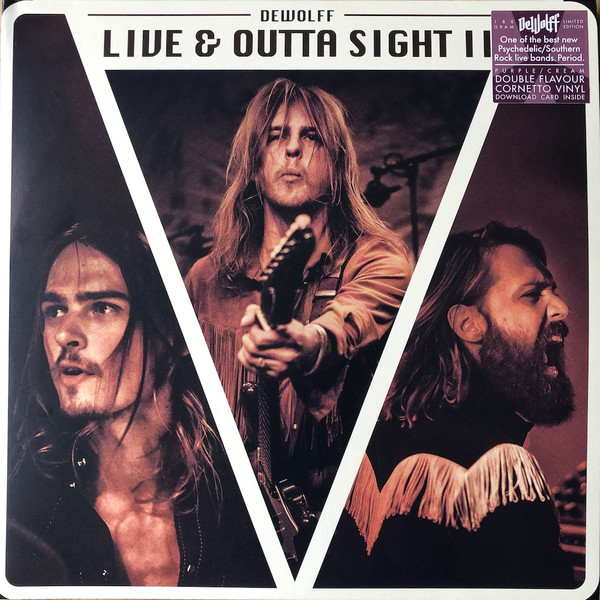 Dewolff - Live & Outta Sight II - vinyl record
