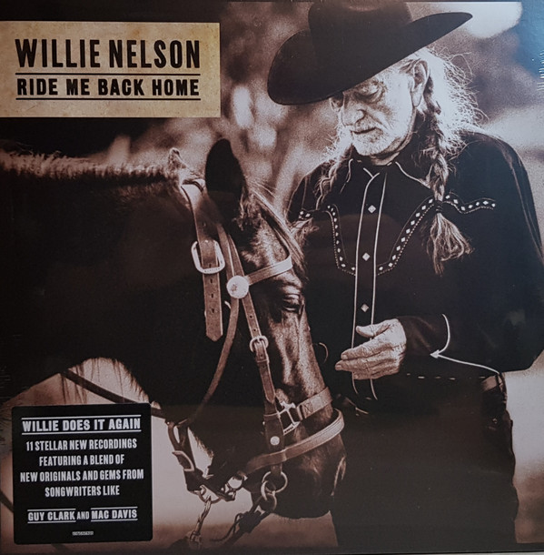 Willie Nelson - Ride Me Back Home - vinyl record