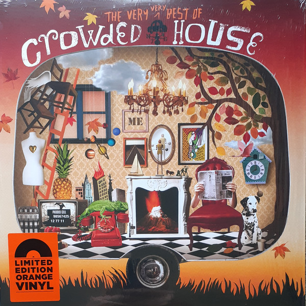 Crowded House - The Very Very Best Of Crowded House - vinyl record